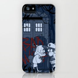 Bad wolf in gravity falls iPhone Case