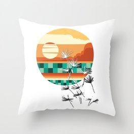 Chequered Love Throw Pillow