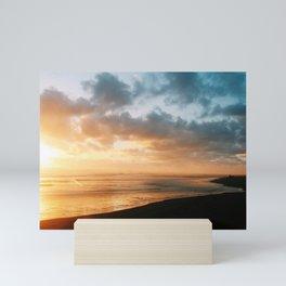 The last glow Mini Art Print