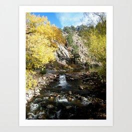 Fall in Boulder, CO Art Print