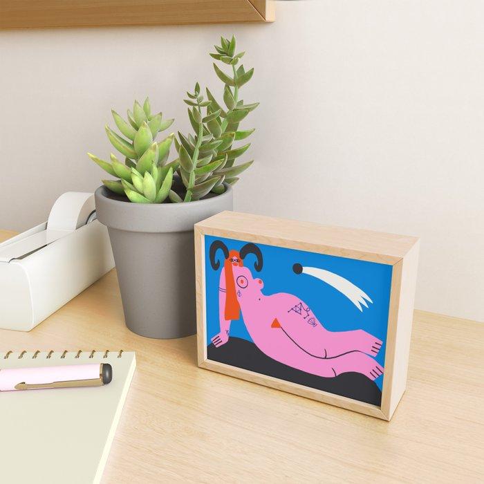 Perpetual Manifestation Framed Mini Art Print