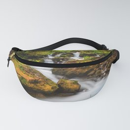 A smooth flow. Fanny Pack