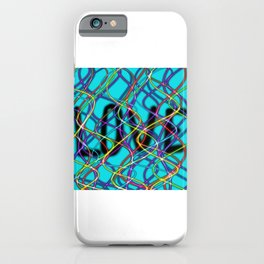 Love Show-Aqua iPhone Case