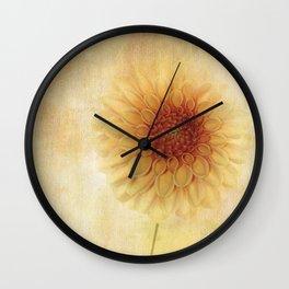 Three Dahlia-ings Wall Clock