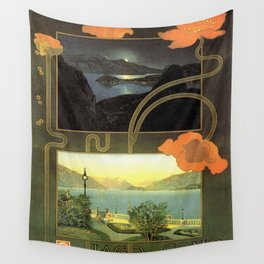 Vintage poster - Lago di Como Wall Tapestry