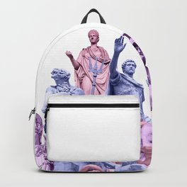 Statue Collage Backpack