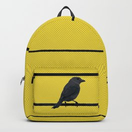 Bird and wires Backpack