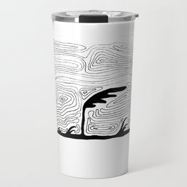 It Is Windy Out There Travel Mug