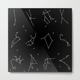 Astrology Metal Print
