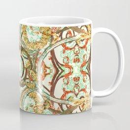 Multicolored Modern Collage Print  Coffee Mug
