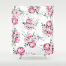 hurry spring Shower Curtain