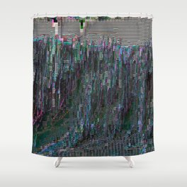 perfectly corrupted Shower Curtain