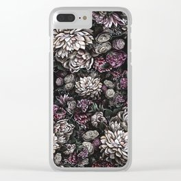 florals galore Clear iPhone Case