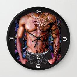 Aussie Ink Wall Clock