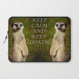 I am a model - a meerkat Laptop Sleeve