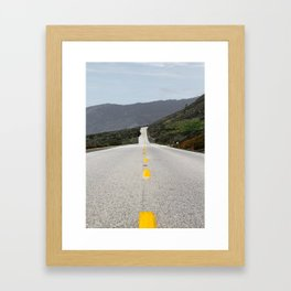 California Road Framed Art Print
