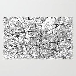 Dortmund Map Gray Rug