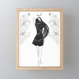 Company Of Wolves Framed Mini Art Print