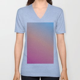 Blush Unisex V-Neck