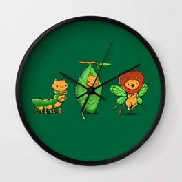 Cat-Erpillar Wall Clock