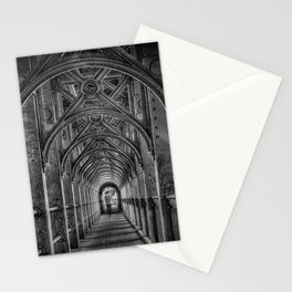 High Level Bridge in Newcastle upon Tyne black and white Stationery Cards