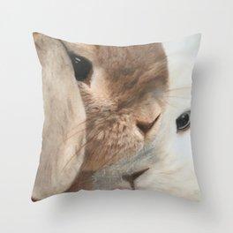 SomeBunny Loves you! Throw Pillow