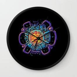 Aztec Sun Wall Clock