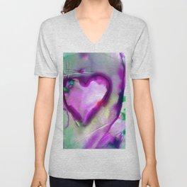 Heart Dreams 4E by Kathy Morton Stanion Unisex V-Neck