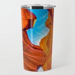 Sand & Sky Antelope Canyon Arizona Southwest Landscape Travel Mug