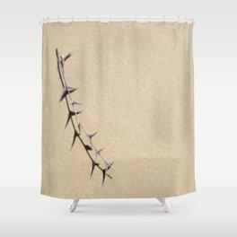 Soft Thorn Shower Curtain