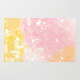 Pink Gold Rug