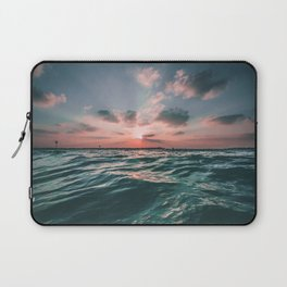 Sunset Tide Laptop Sleeve