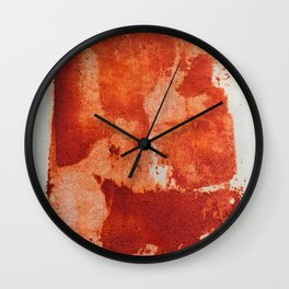 Trick or treat, all red! Wall Clock