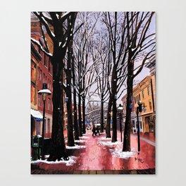 Two bi Two, C-ville, VA Canvas Print