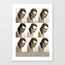 Jazz Heroes Series - Art Tatum Canvas Print