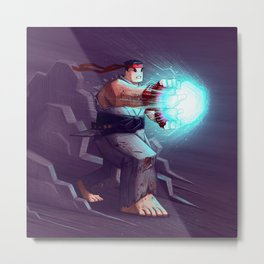 Ryu Metal Print