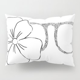 I see flowers Pillow Sham