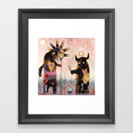 Conjuration of the fylgja Framed Art Print