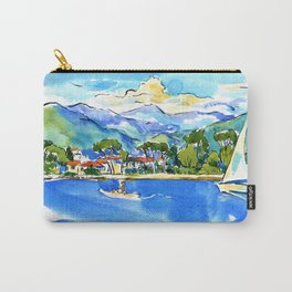 river Magra in Liguria, Italy Carry-All Pouch