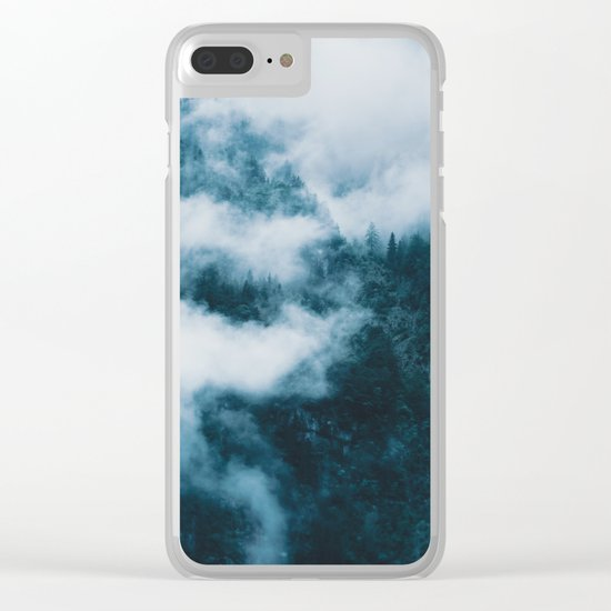 Embracing serenity - Landscape Photography Clear iPhone Case