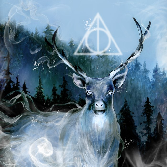 My Patronus is a Stag Comforters