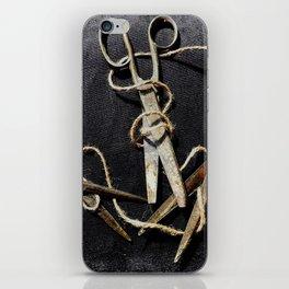Snip Snip iPhone Skin
