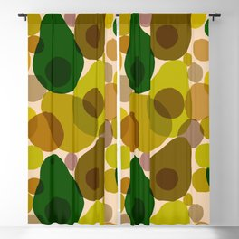 Abstraction_AVOCADO_Love_Minimalism_001 Blackout Curtain