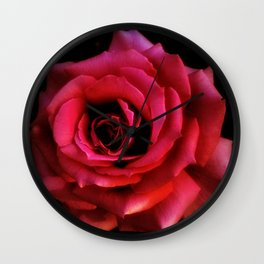 RED ROSE - 10318/1 Wall Clock