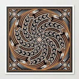 Wind Spirit (Brown) Canvas Print