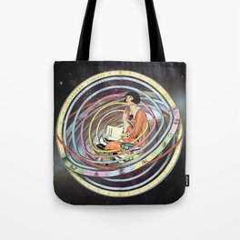 The pursuit of meaning Tote Bag