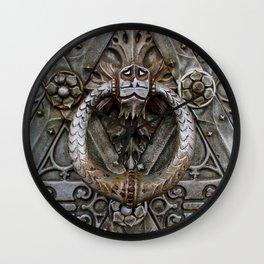 the door keeper Wall Clock