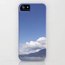 Crazy clouds iPhone Case