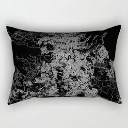 Brisbane map Australia Rectangular Pillow