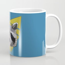 Naughty Raccoon Coffee Mug